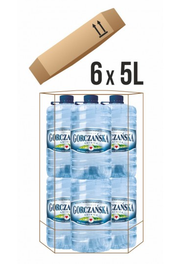 Gorczańska 6x5l + kosz na odpady