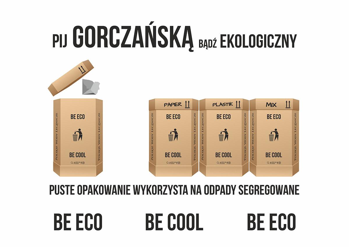 Naturalna woda źródlana Gorczańska